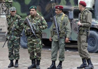 انتشار الجيش التونسي في مدن عديدة مع استمرار الاحتجاجات