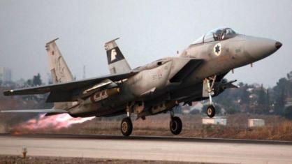 غارات جوية إسرائيلية على سوريا