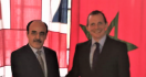 السفير البريطاني بالمغرب يستقبل إلياس العماري بمقر إقامته