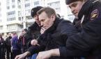 زعيم المعارضة الروسي معتقل