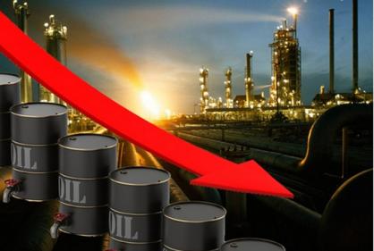 أسعار النفط تتراجع لمستوي قياسي جديد