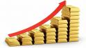 ارتفاع أسعار الذهب خلال التعاملات الأمريكية