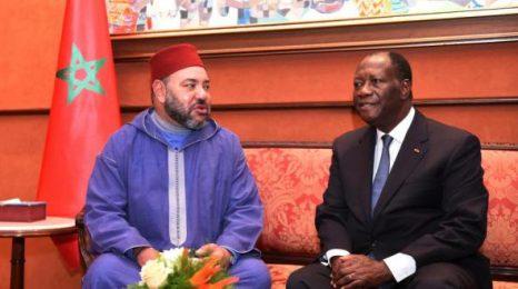 الملك محمد السادس  يبعث  برقية تعزية إلى الرئيس الإيفواري